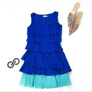 Calvin Klein Waterfall Flapper Tank Dress